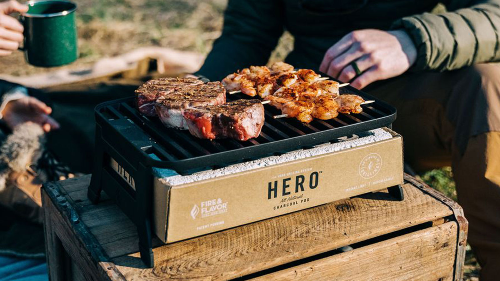 Fire & Flavor Hero Grill System