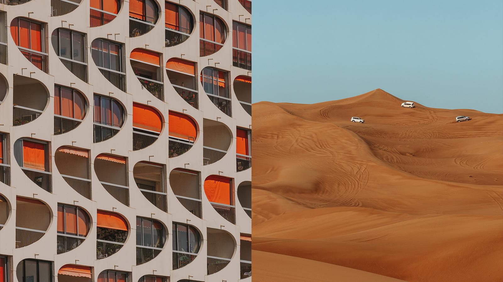 (좌) La Grande Motte, France, 2020 / (우) Dubai, UAE, 2018